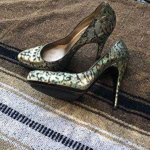 Lanvin Brocade heels